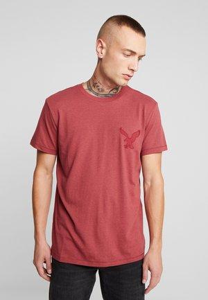 BITESTITCHING CLASSIC FIT - T-shirt imprimé - red