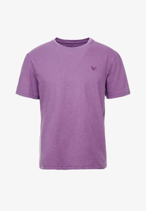 SLUB CREW NECK - T-shirt basic - purple