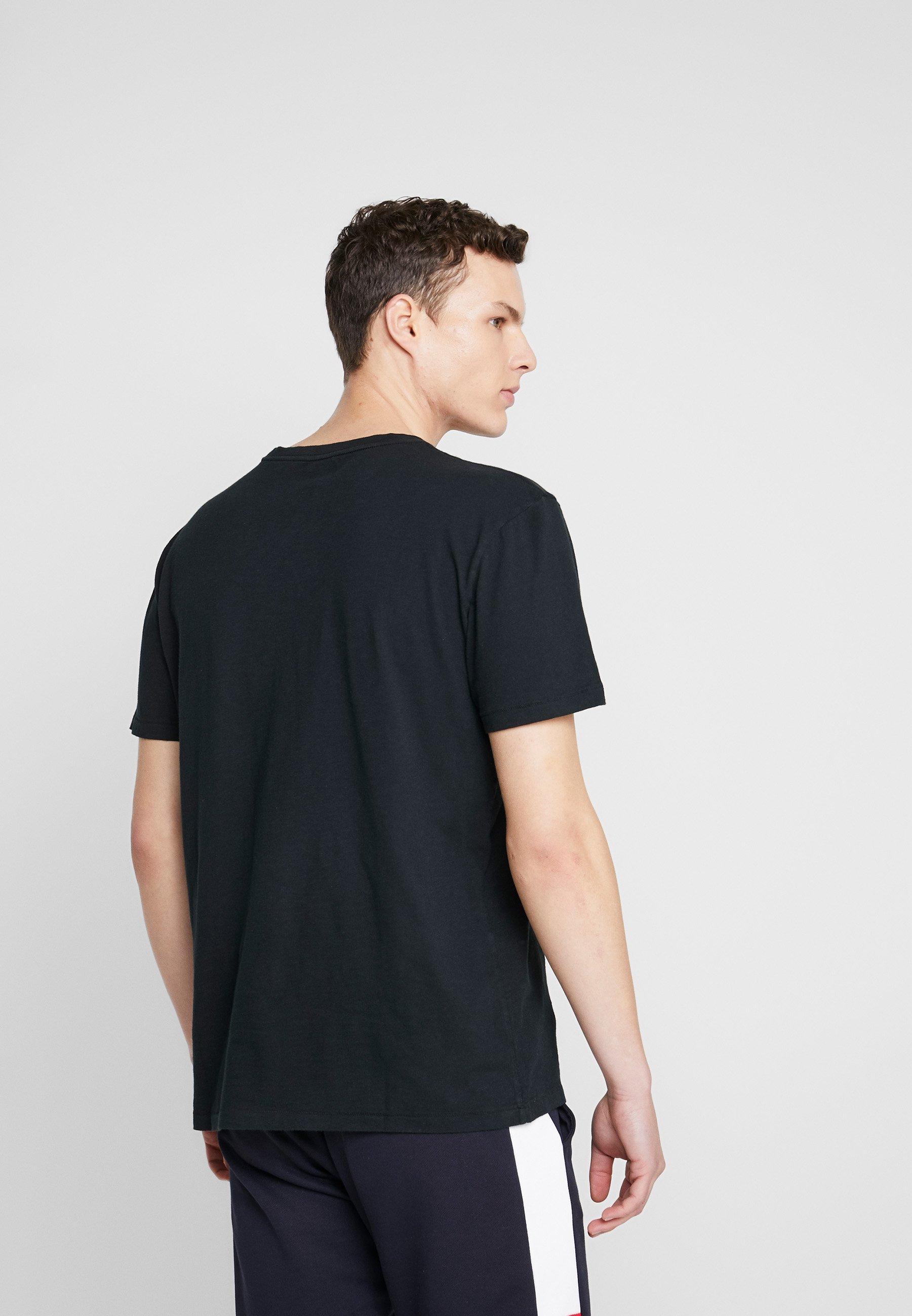 American Eagle SLUB CREW NECK - T-shirt basique - black