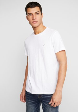 RUSTIC SLUB CREW - T-shirt basic - new white