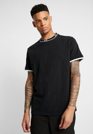 TEE - Basic T-shirt - bold black