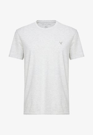 SLUB CREW NECK  - T-shirt basic - frozen grey heather
