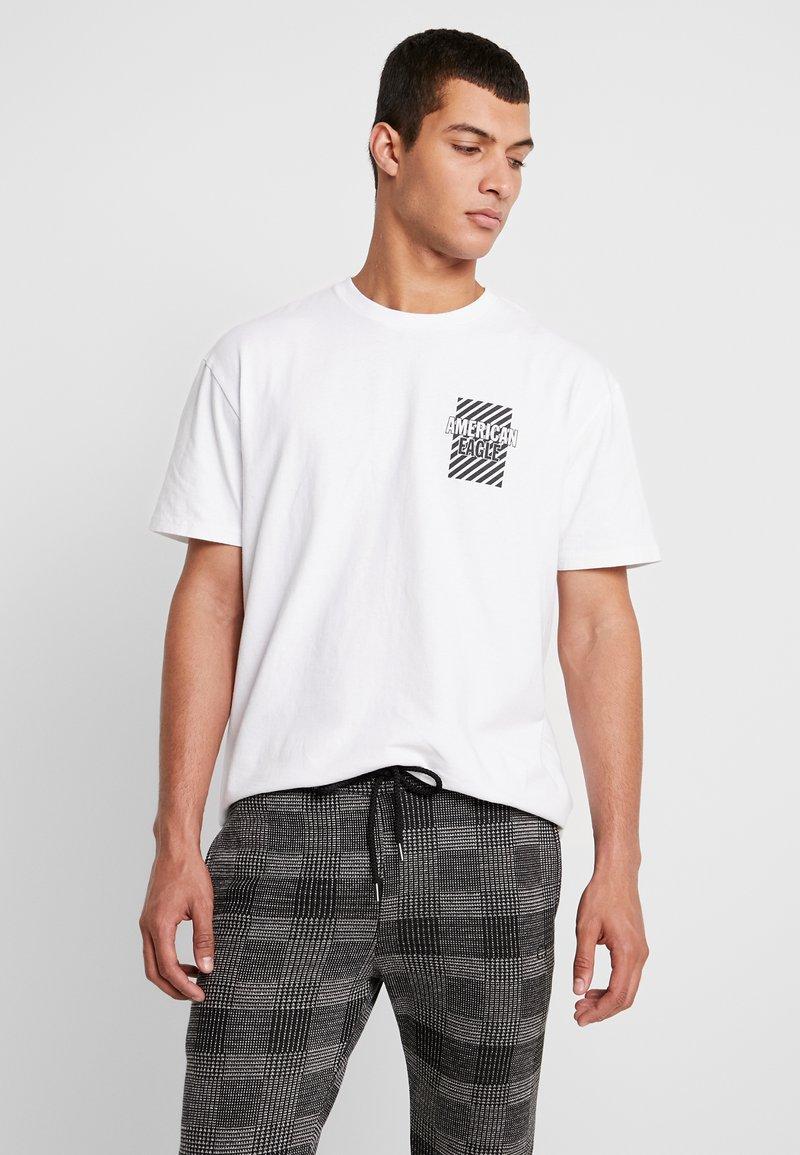 American Eagle - IN TEE - T-Shirt print - new white