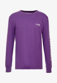 American Eagle - SET IN TEE BOUND NECK - Pitkähihainen paita - purple - 3