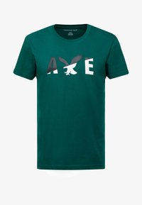 American Eagle - SET IN TEE  - T-shirt imprimé - batalia green - 3