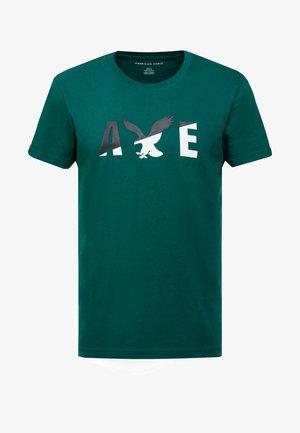 SET IN TEE  - T-shirt con stampa - batalia green