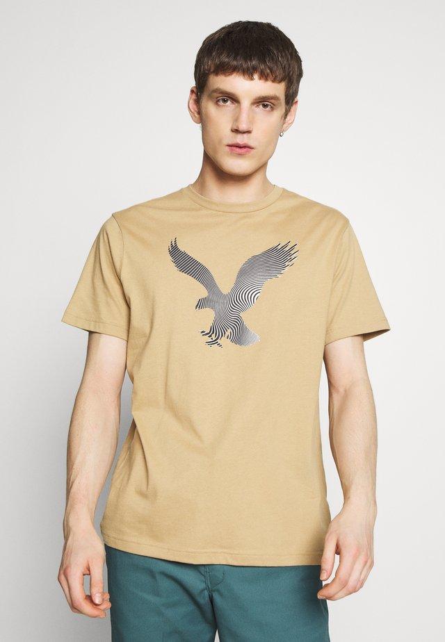 TEE BRAND - T-shirts print - khaki