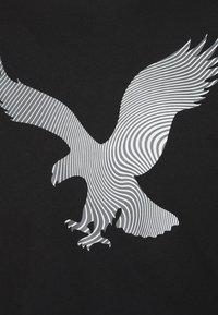 American Eagle - TEE BRAND - Triko spotiskem - black - 2