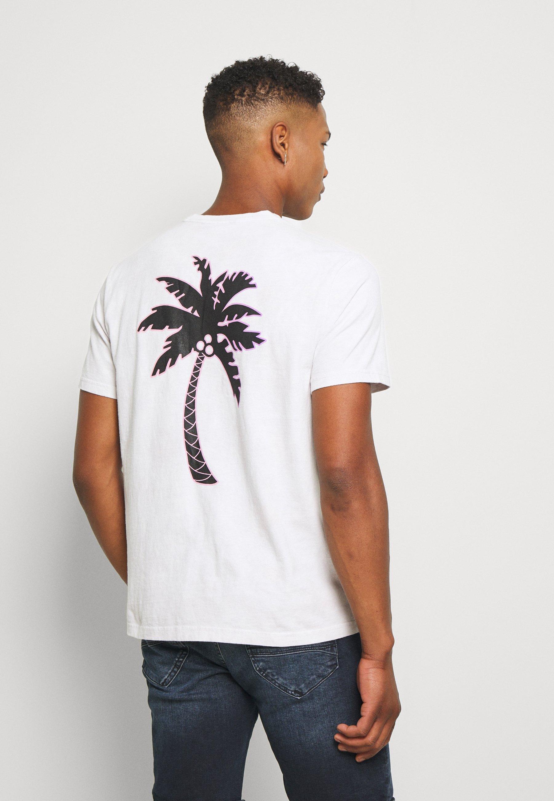 SET IN TIE DYE T shirt imprimé gray