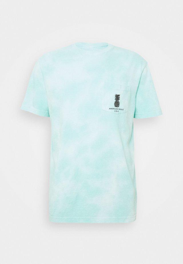 SET IN TIE DYE - Print T-shirt - green