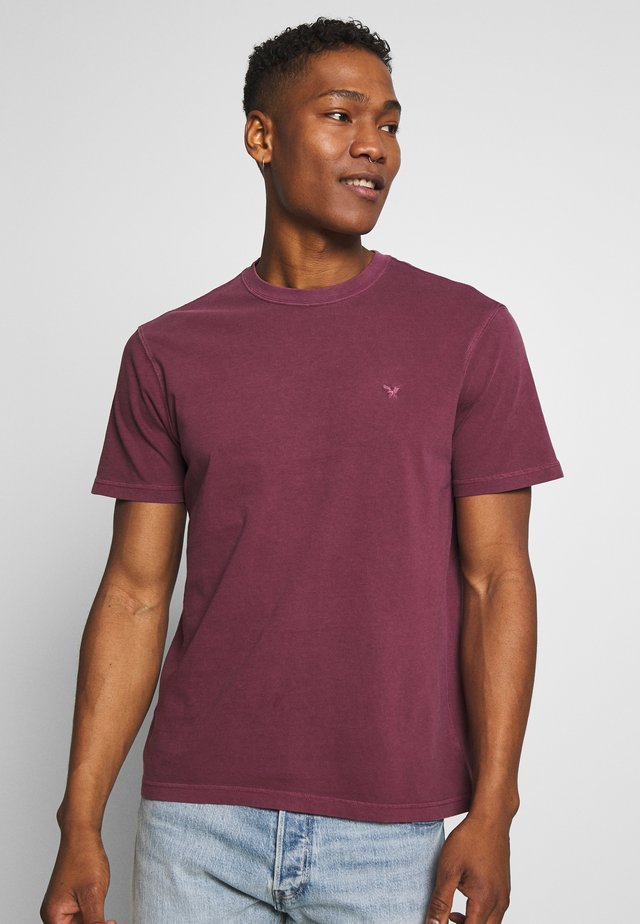 BUTLER  EAGLE - T-Shirt basic - burgundy
