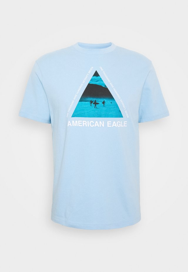 SET IN TEE CORE BRAND - T-shirts print - blue breeze