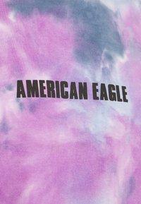 American Eagle - UNISEX SET IN TEE TIE DYE - Print T-shirt - blue mist - 2
