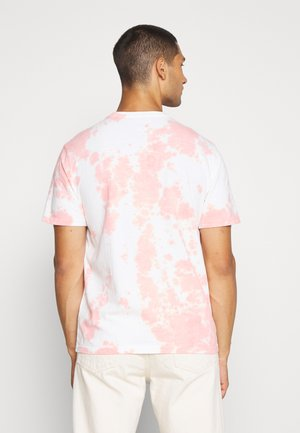 UNISEX SET IN TIE DYE - Print T-shirt - peach