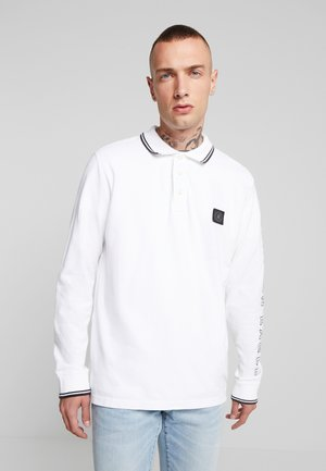 DYE TIPPED WITH GRAPHIC - Polo shirt - new white