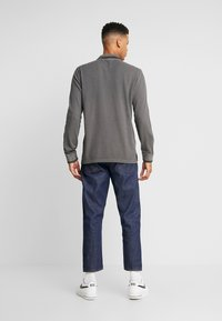 American Eagle - TIPPED  WITH GRAPHIC - Polo - dark grey - 2