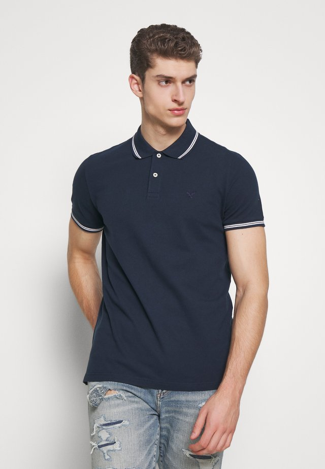 NOVELTY TIPPING - Poloshirt - navy