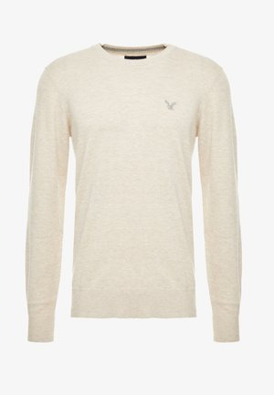 CREW - Pullover - oatmeal heather
