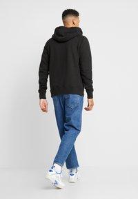 American Eagle - ZIP THRU HOODED - veste en sweat zippée - black - 2