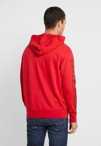 American Eagle - ICON HOODIE - Zip-up hoodie - athletic red - 2