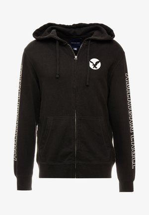 ICON HOODIE - veste en sweat zippée - onyx black