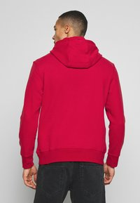 American Eagle - ICON POPOVER HOODIE - Hoodie - bright red - 2