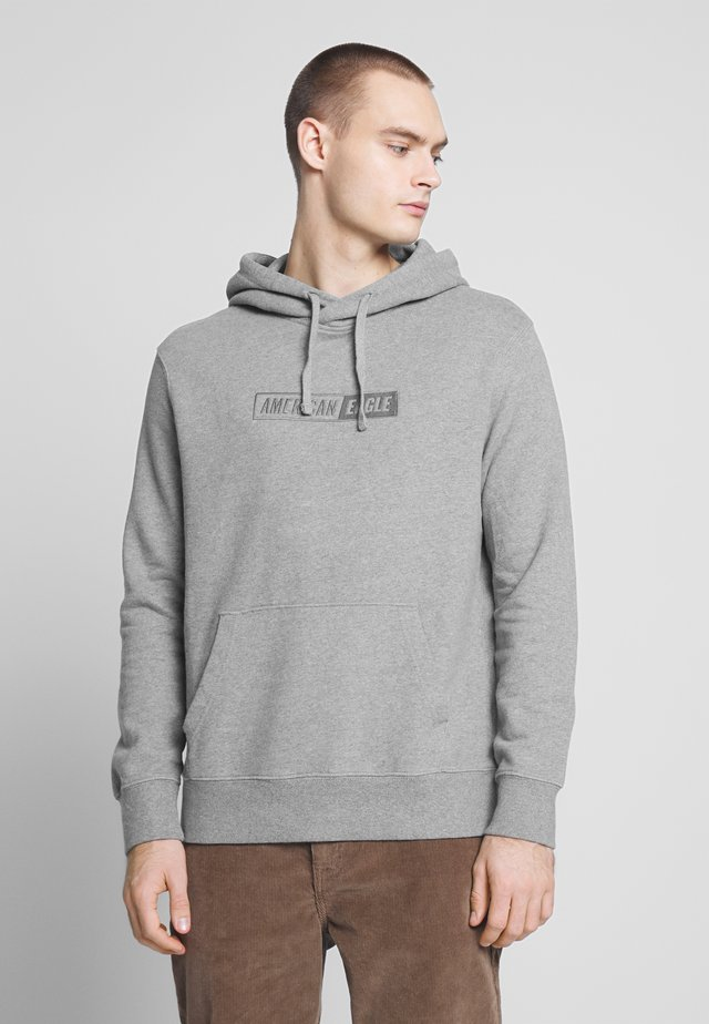 GRAPHIC POPOVER - Hoodie - heather gray