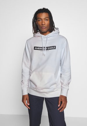 TRANS PIECE DYE GRAPHIC  - Hoodie - white
