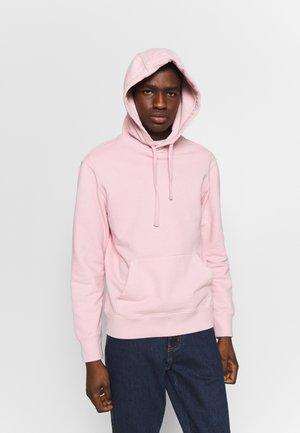 TRANS DIESEL - Bluza z kapturem - pink