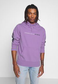 American Eagle - ACID WASH  - Bluza z kapturem - purple - 0