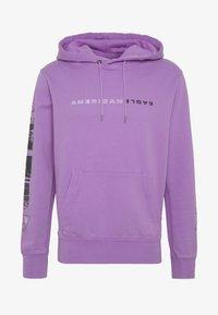 American Eagle - ACID WASH  - Bluza z kapturem - purple - 3