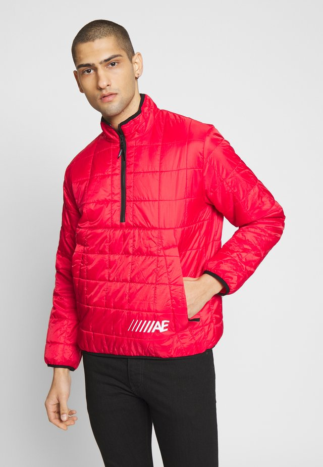QUILTED POPOVER - Übergangsjacke - bright red