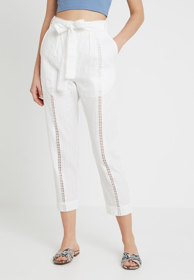 A FOREIGN AFFAIR PANTS - Trousers - porcelain