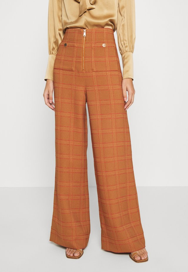 DO RIGHT PANT - Broek - tobacco