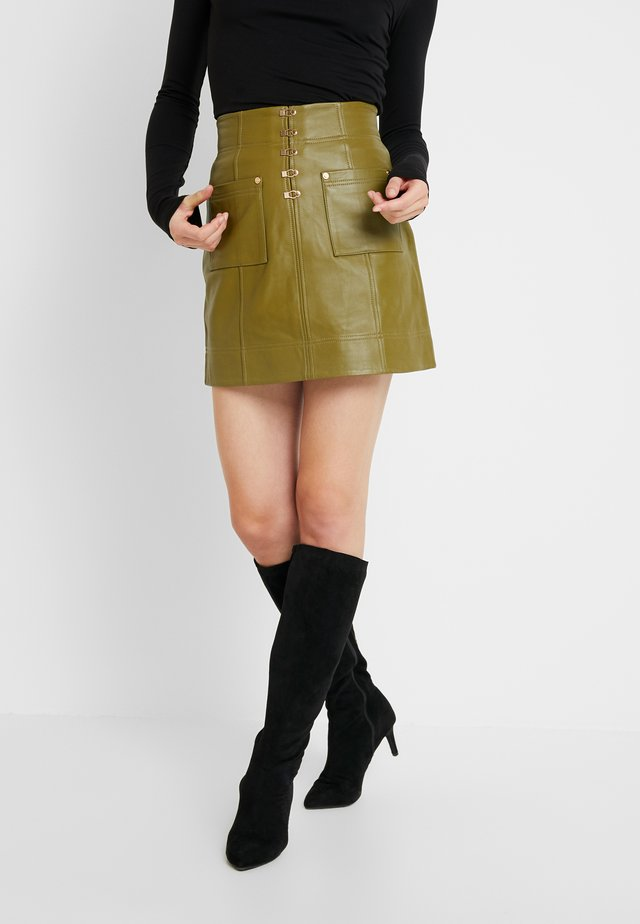 SWEET - A-line skirt - khaki
