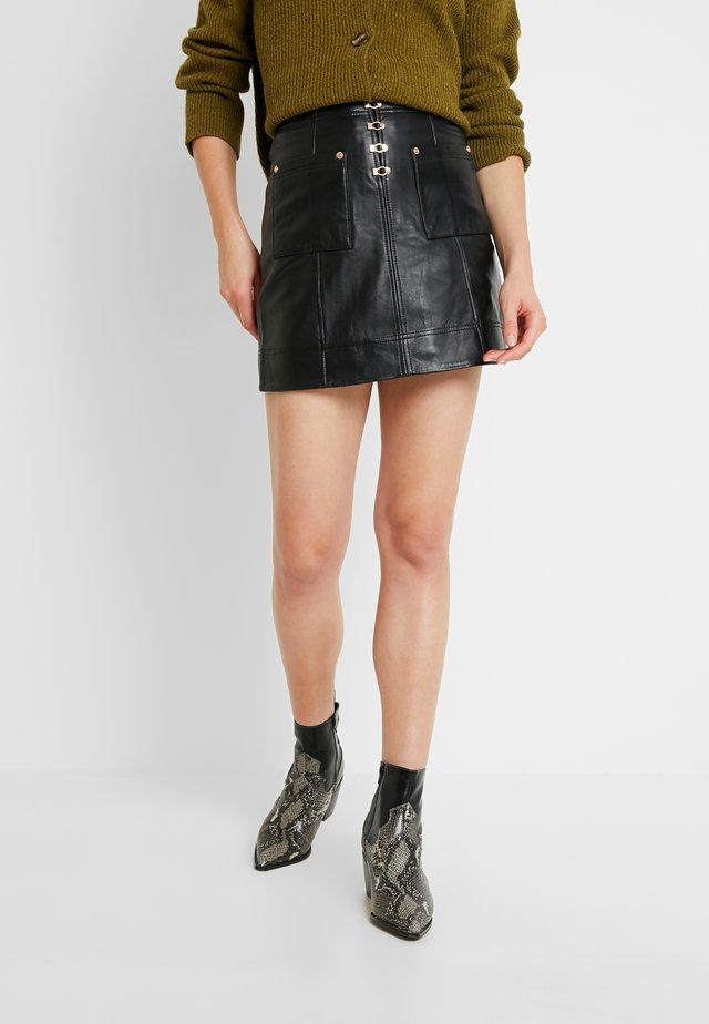 SWEET - A-line skirt - black