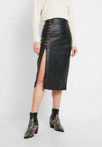 Alice McCall - SWEET MIDI SKIRT - Pouzdrová sukně - black - 0