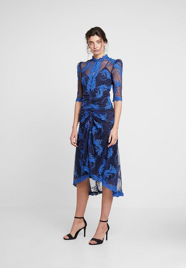 HONEYMOON MIDI DRESS - Cocktail dress / Party dress - indigo