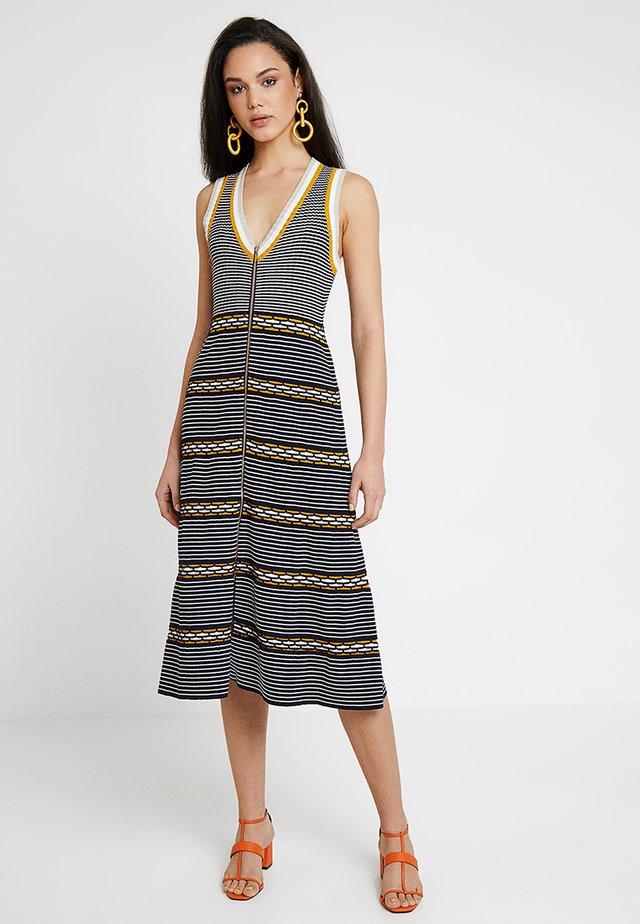 STRANGE GIRL MIDI DRESS - Shift dress - indigo