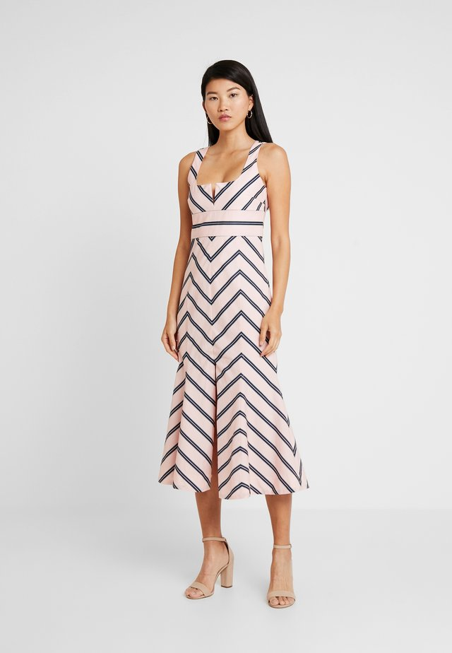 AT LAST MIDI DRESS - Cocktail dress / Party dress - pink