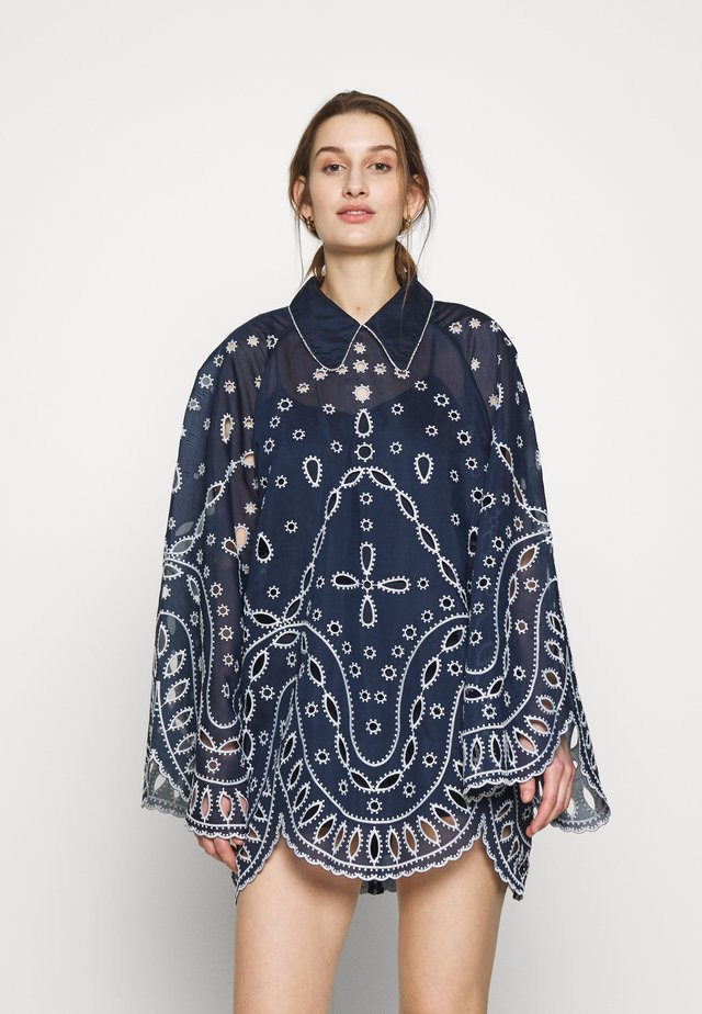 MOONCHILD MINI DRESS - Vapaa-ajan mekko - indigo