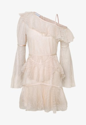 SHADOW LOVE MINI DRESS - Denní šaty - tea rose