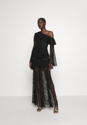 SHADOW LOVE GOWN - Iltapuku - black