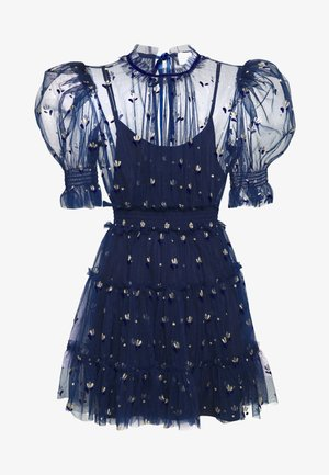 COWBOY TEARS MINI DRESS - Sukienka koktajlowa - indigo