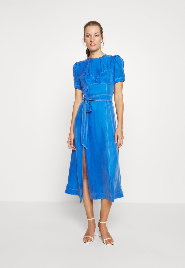 EYES ON YOU MIDI DRESS - Korte jurk - cerulean