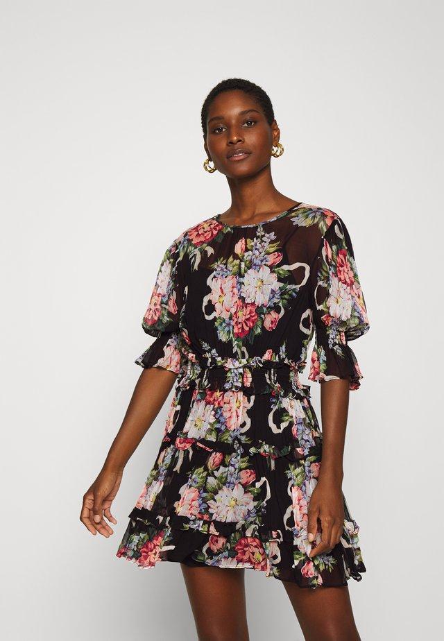 PRETTY THINGS MINI DRESS - Kjole - black
