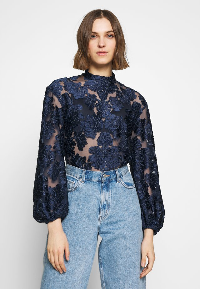 MAGIC BELL TOP - Bluse - indigo