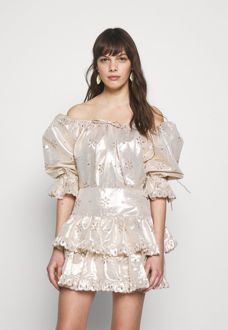 Alice McCall - ELECTRIC GALAXY PLAYSUIT - Overal - gold