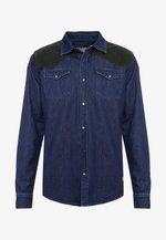 DAPPER - Košile - dark blue denim