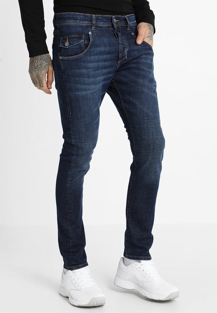 Amsterdenim - JOHAN - Straight leg jeans - true blue
